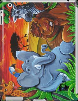 Jungle Mural by Brian Allen