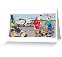 Mural - Chesterfield Airport Greeting Card