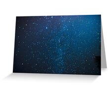 Milky Way Mystery Greeting Card