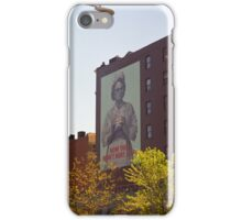Retro Nurse poster, New York iPhone Case/Skin