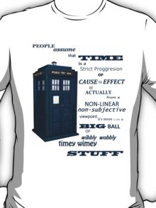 Doctor Who Timey Wimey T-Shirt