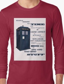 Doctor Who Timey Wimey Long Sleeve T-Shirt