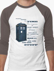 Doctor Who Timey Wimey Men's Baseball ¾ T-Shirt