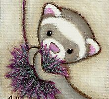 Ferret Toy by Shelly  Mundel