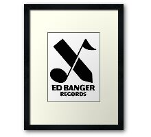 Ed Banger Records - Logo Framed Print