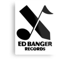 Ed Banger Records - Logo Metal Print