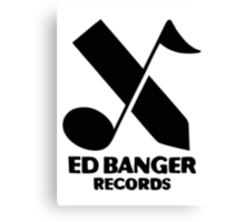Ed Banger Records - Logo Canvas Print