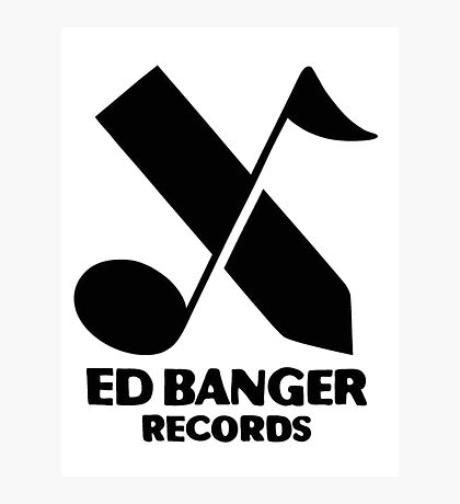 Ed Banger Records - Logo Photographic Print