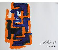 Color Study 1 - Pre-Columbian Style Photographic Print
