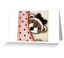 Millie the Mouth Greeting Card