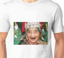 Akha Hilltribe Woman Unisex T-Shirt