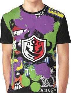 Splatoon Inspired: Ink Splat Brand Graphic T-Shirt