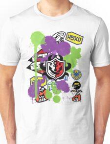 Splatoon Inspired: Ink Splat Brand Unisex T-Shirt