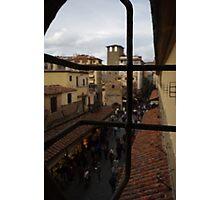 View from Vasari Corridor Photographic Print