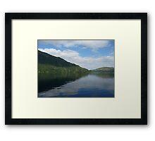 Lake Crescent Washington State Framed Print