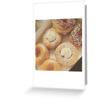 Donuts ~ Personal Photography Collection Greeting Card