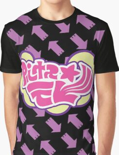Splatoon Inspired: Callie and Marie News Splash Graphic T-Shirt