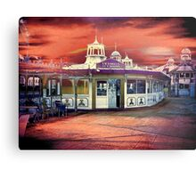 Victorian Tea Rooms Metal Print