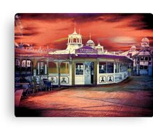 Victorian Tea Rooms Canvas Print