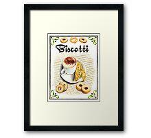 BISCOTTI Framed Print