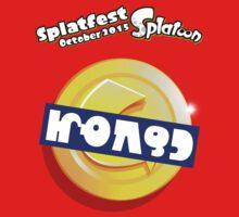 Splatfest Team Money v.3 Kids Clothes