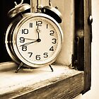 Old clock by Katarzyna Siwon