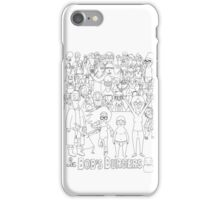 Characters of Bobs Burgers iPhone Case/Skin