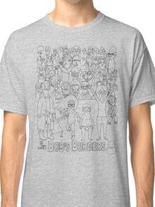 Characters of Bobs Burgers Classic T-Shirt