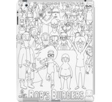 Characters of Bobs Burgers iPad Case/Skin