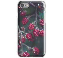 Wild Rasberries iPhone Case/Skin