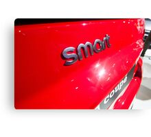 Smart Fortwo mhd Coupe Smart Logo [ Print & iPad / iPod / iPhone Case ] Canvas Print