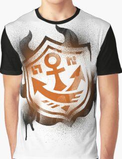 Splatoon Inspired: Graffiti Ranked Battle Icon Graphic T-Shirt