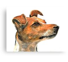 Jack Russell Dog Canvas Print