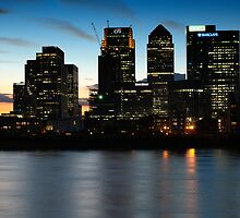 London skyline by Magdalena Warmuz-Dent