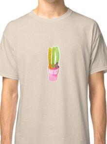 Pink cactus Classic T-Shirt