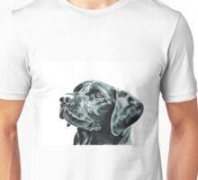 Black Labrador Dog Unisex T-Shirt