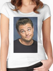 Leonardo DiCaprio Women's Fitted Scoop T-Shirt