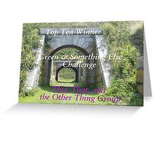 Top Ten - Green & Something Else Greeting Card