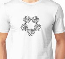 Hypotrochoid Super Star Unisex T-Shirt
