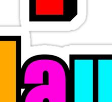 playa Sticker