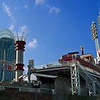 Reds Stadium Cincinnati by Phil Campus