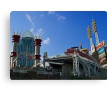 Reds Stadium Cincinnati Canvas Print