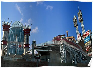 Reds Stadium Cincinnati by Phil Campus