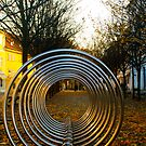 Autumnal Prague Cycle Rack by dozzie