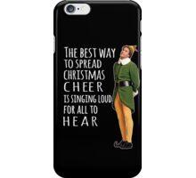 Elf, christmas cheer iPhone Case/Skin