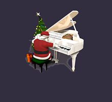 Santa Claus Piano Player Unisex T-Shirt