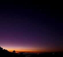 Sunrise on Mount Dandenong by modernistdesign