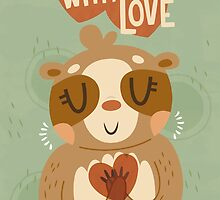 With Love From A Sloth by Claire Stamper