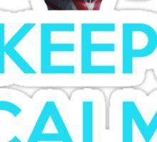 Keep Calm and Ultralive Ultraman Ginga Sticker