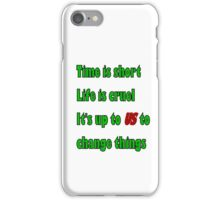 In a town called malice iPhone Case/Skin